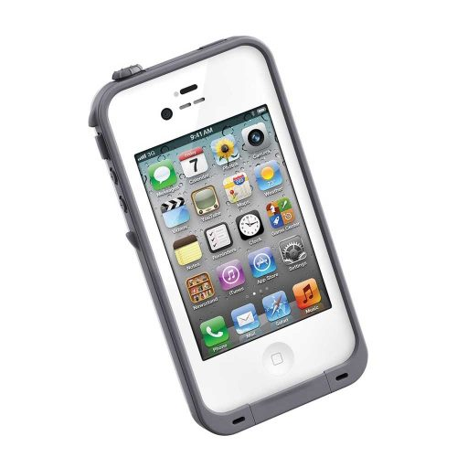 Estuche Lifeproof para iPhone 4, 4s Blanco
