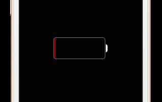 Batería descargada iPhone 6