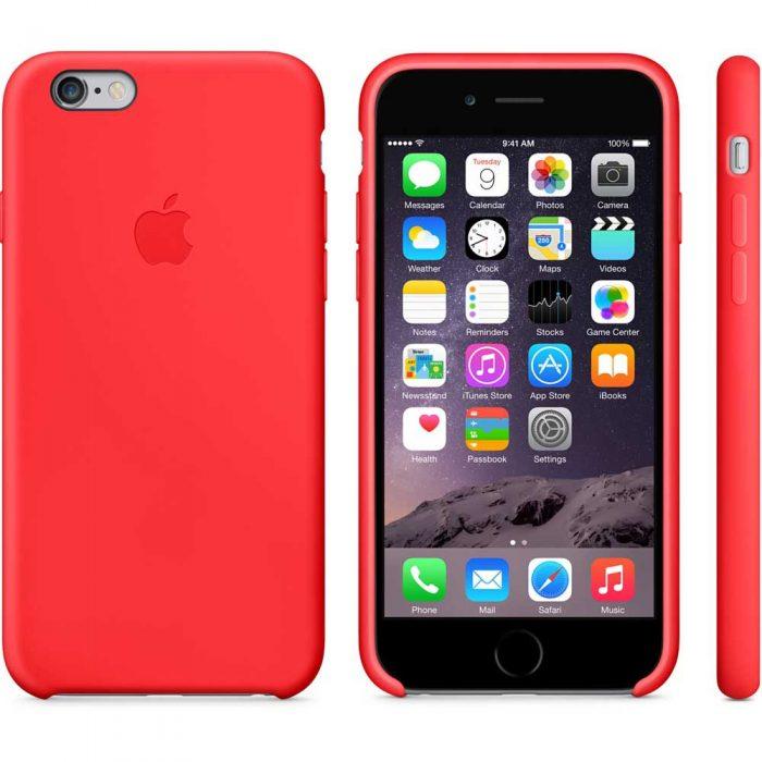 Estuche Silicona iPhone 6 Gris Espacial