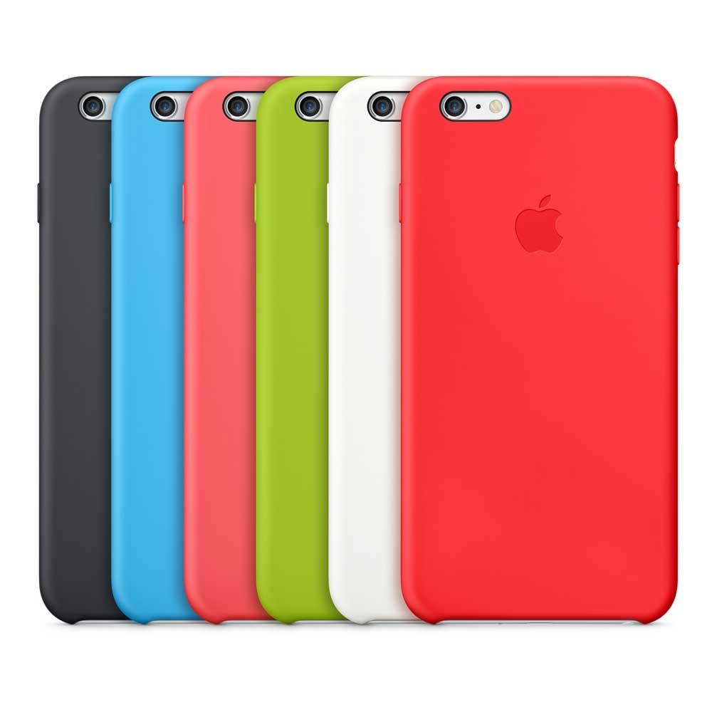 Todos los colores estuche silicón iPhone 6