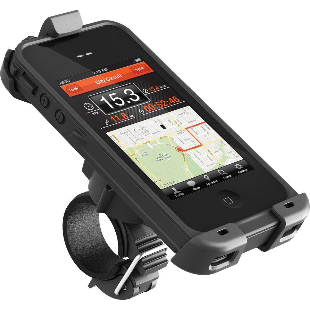 Adaptador para la manivela de la bicicleta o moto para iPhone 4 4s