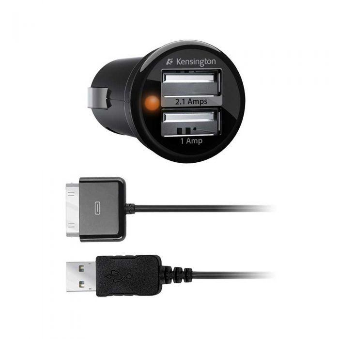 Adaptador Kensington USB con Cable USB a 30 Pin para Carro