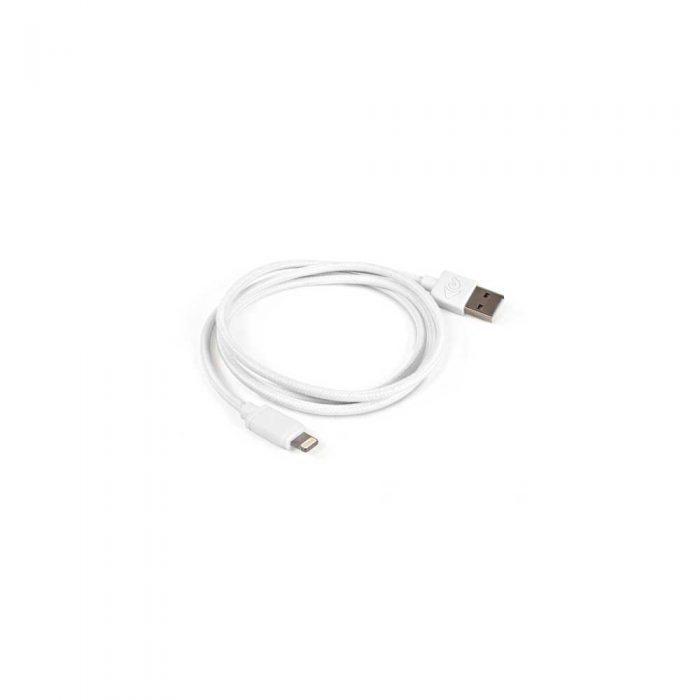 Cable NewerTech Lightning a USB (1m) Reforzado Blanco