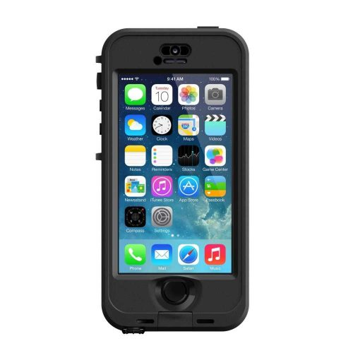 Estuche LifeProof Nuud Negro para iPhone 5 y 5s