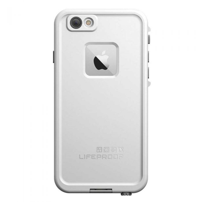 Estuche Blanco Lifeproof™ Fre iPhone 6 Parte Trasera