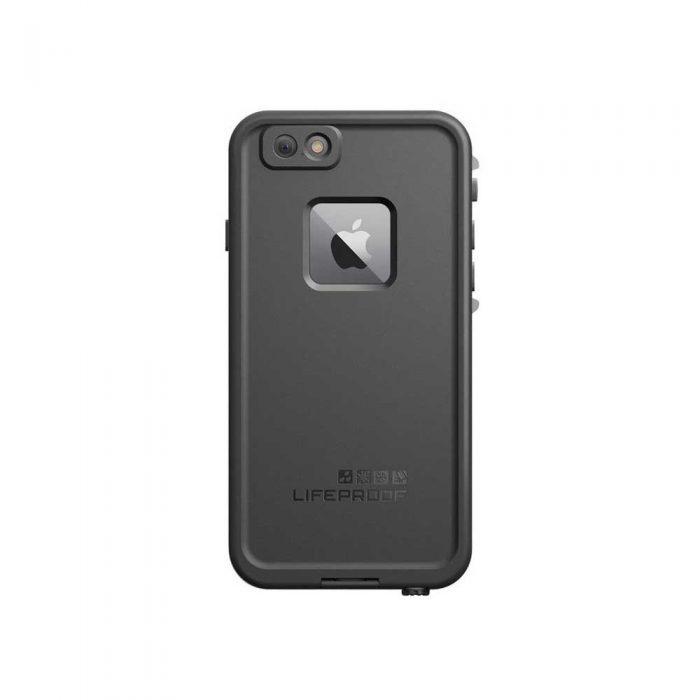 Estuche Negro Lifeproof™ iPhone 6 Parte Trasera