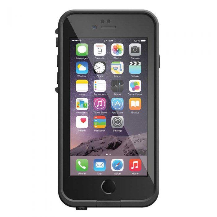 Estuche Negro Lifeproof™ Fre iPhone 6 Frente